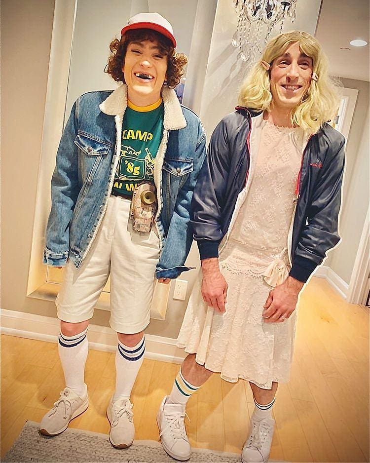 Brad Marchand is ready for Halloween.bostonbruins boston bruins nhlbruins nhl nhlhockey iceh…